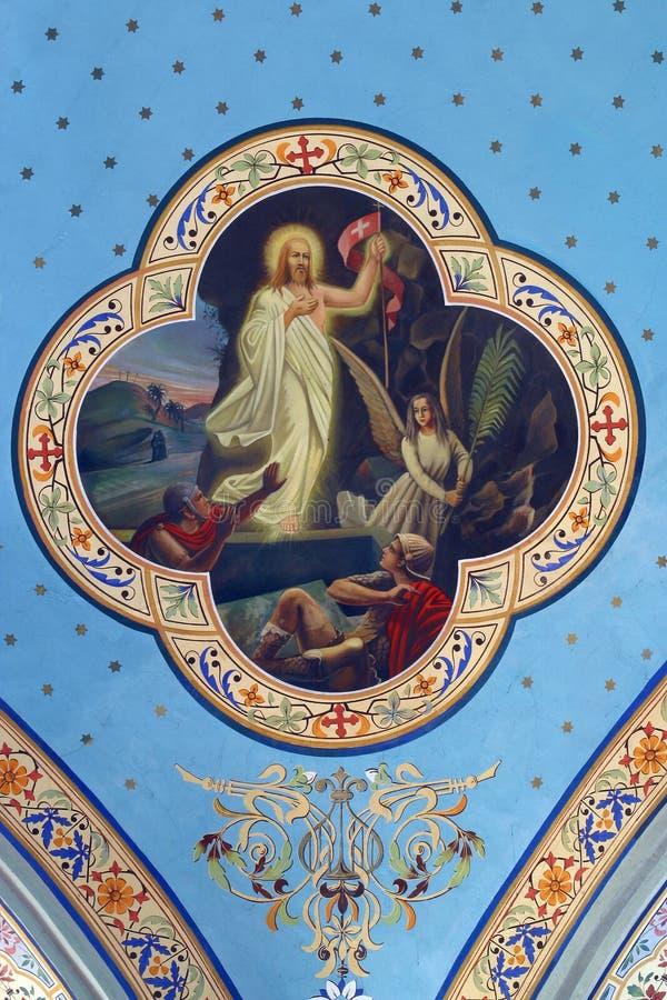 Le Christ levé photos libres de droits