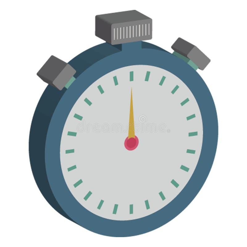 Le chronomètre, commerce a isolé l'icône de vecteur qui peut être facilement éditée illustration de vecteur