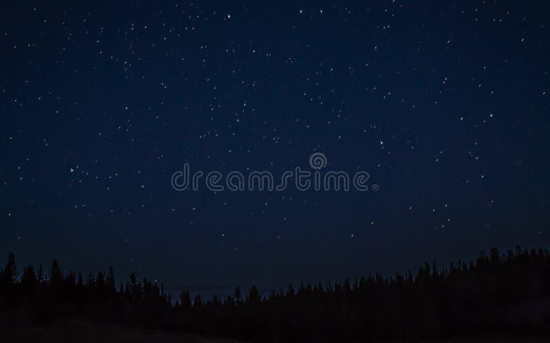 Le ciel étoilé de l'Utah photos stock