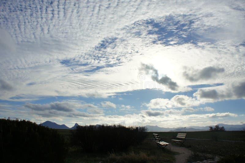 Le ciel photo stock