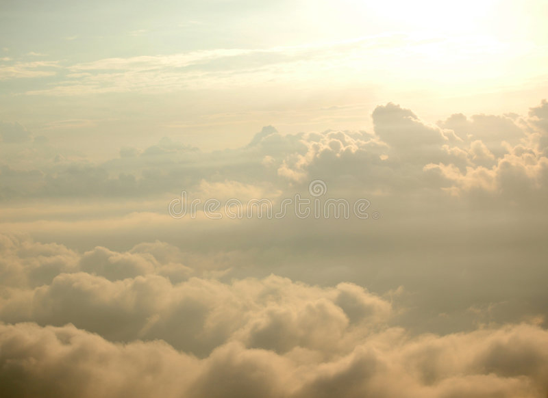 Le ciel aiment le skyscape images stock