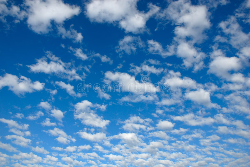 Le ciel bleu image stock