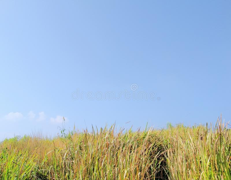 Le ciel de Lembang Bandung photos stock