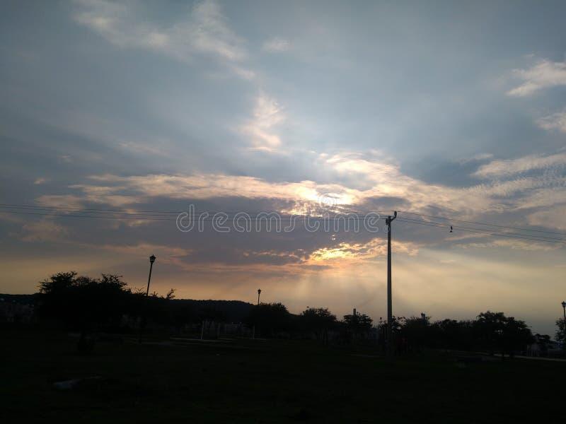Le ciel est étonnant photographie stock libre de droits