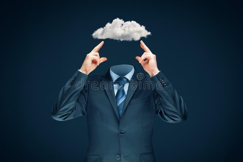 Le ciel est la limite - concept de motivation photographie stock