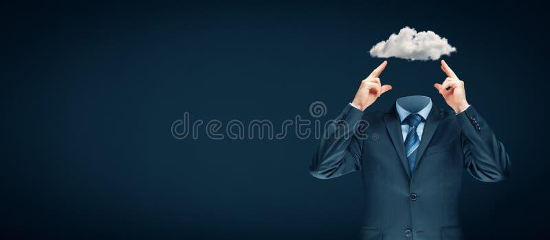 Le ciel est la limite - concept de motivation images libres de droits