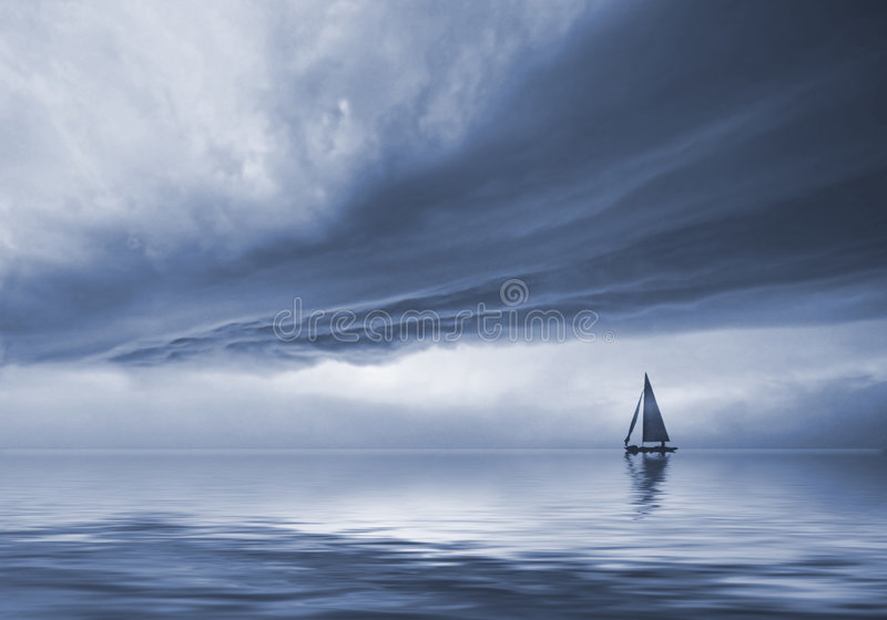 Le ciel excessif image libre de droits