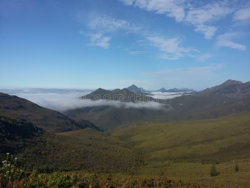 Le cime della montagna fotografia stock