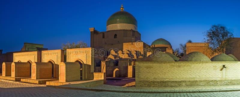 Le cimetière dans Khiva photographie stock libre de droits