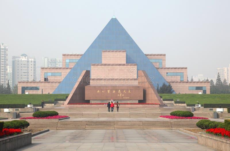 Le cimetière des longs martyres de Hua images stock