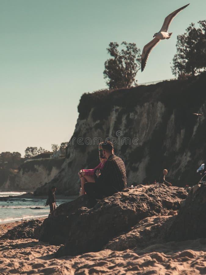 Le cin?ma Love Story de Malibu photo libre de droits