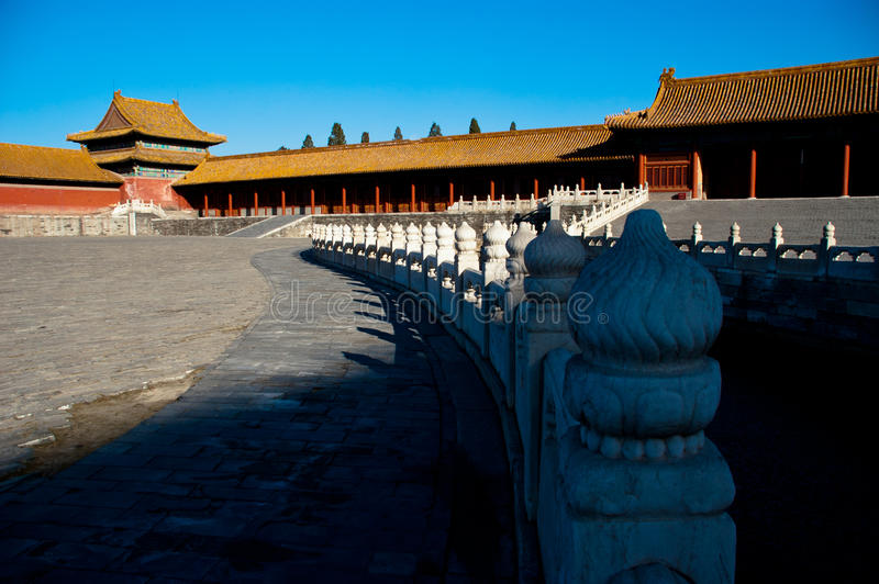 Le Cité interdite dans Pékin photo stock
