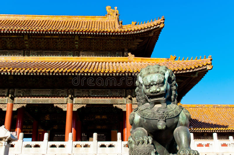Le Cité interdite dans Pékin photos libres de droits