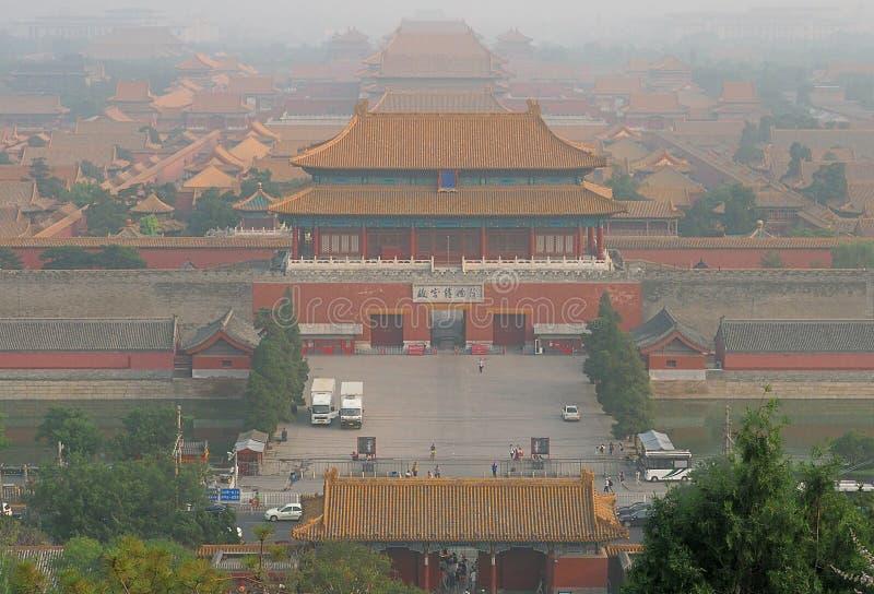 Le Cité interdite de Pékin images stock