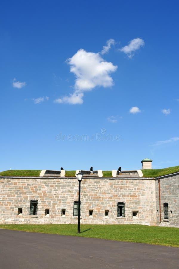 Le Citadelle de Quebec City images libres de droits