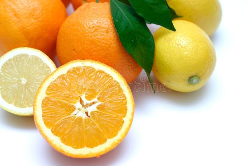 Le citron détaille II image libre de droits