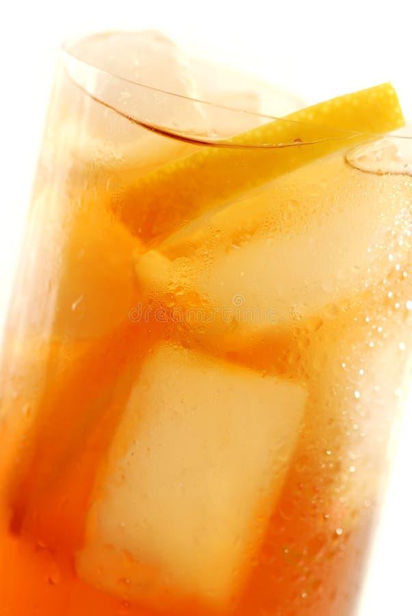 Le citron a glacé le thé photos stock