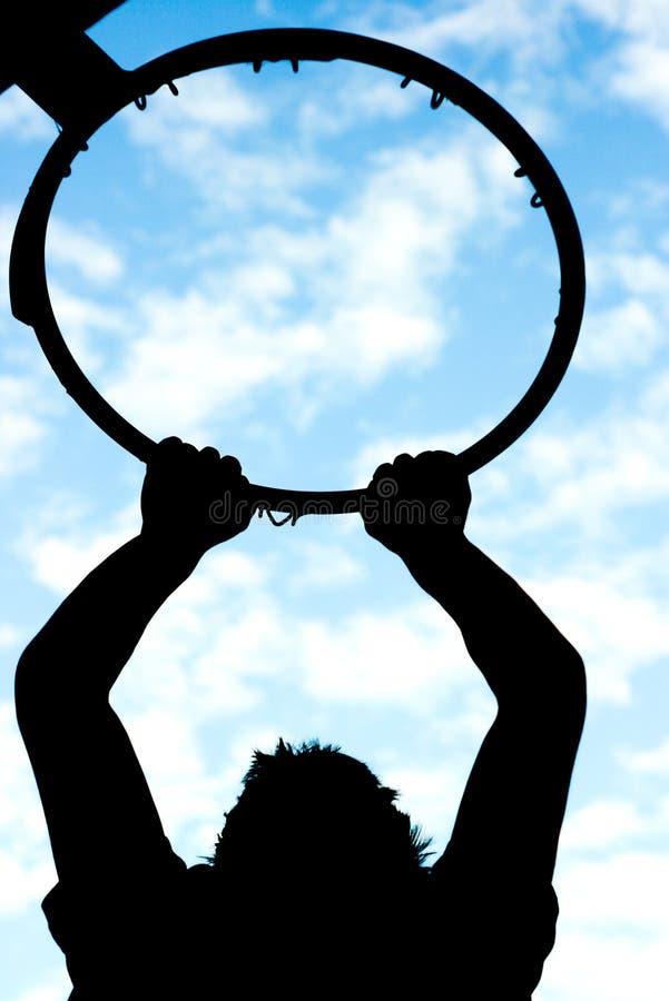 Download Le claquement trempent photo stock. Image du ciel, silhouette - 8670110