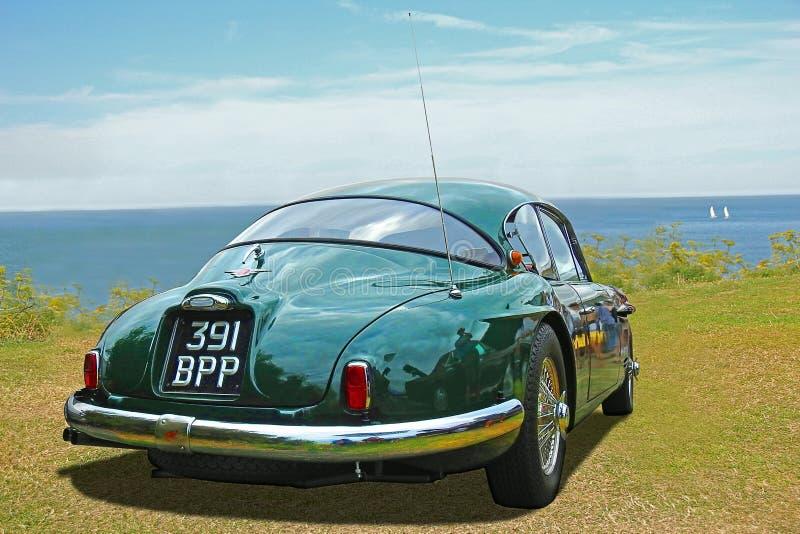 Le classique de vintage jensen l'automobile 541 image stock