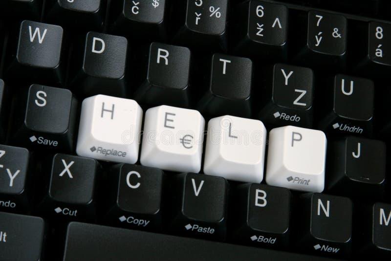 Le clavier d'ordinateur noir photos libres de droits