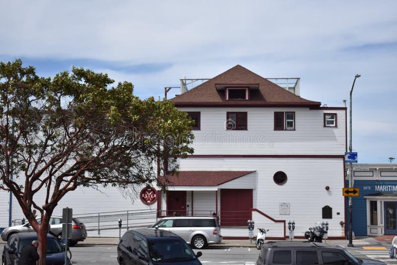 Le club d'aviron historique de South End San Francisco images stock