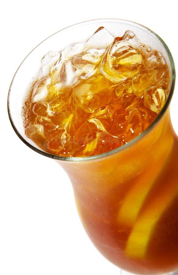 le cocktail a glacé le long thé d'île photos libres de droits