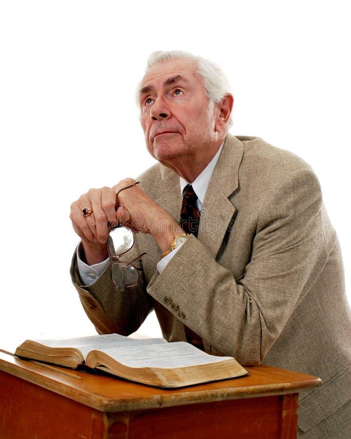 Le coeur d'un pasteur photo libre de droits