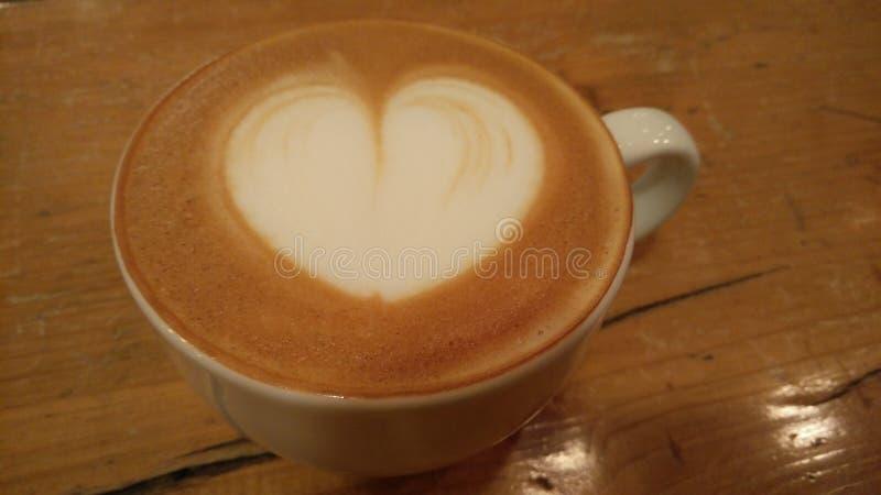 Le coeur est où le café est ! images libres de droits