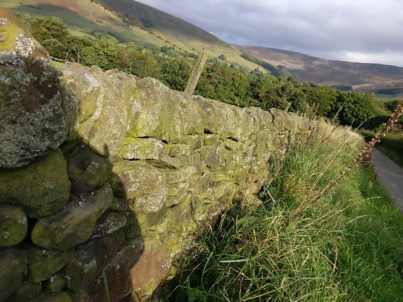 Le colline di Manchester fotografie stock libere da diritti