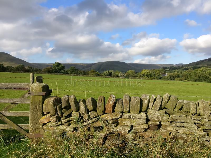 Le colline di Manchester immagine stock