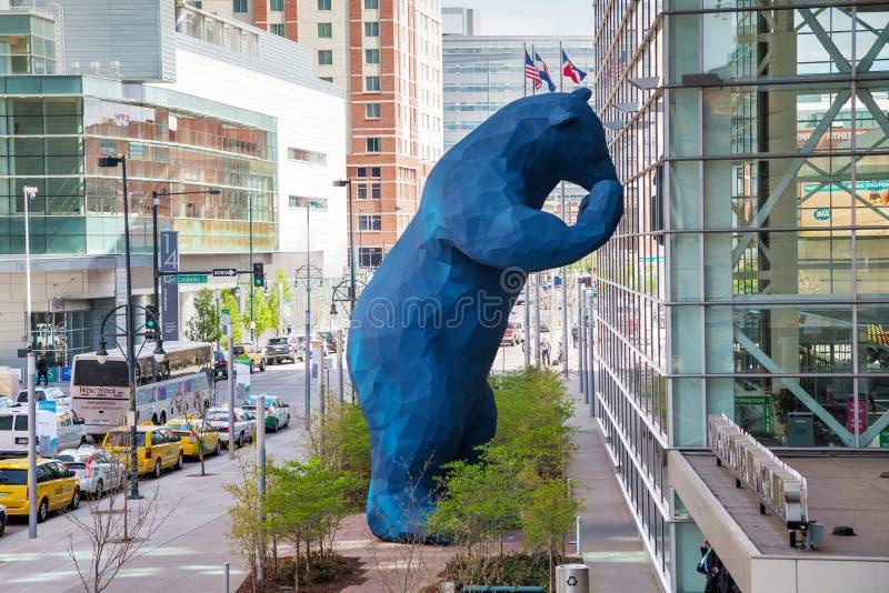 Le Colorado Convention Center un jour ensoleillé photographie stock libre de droits