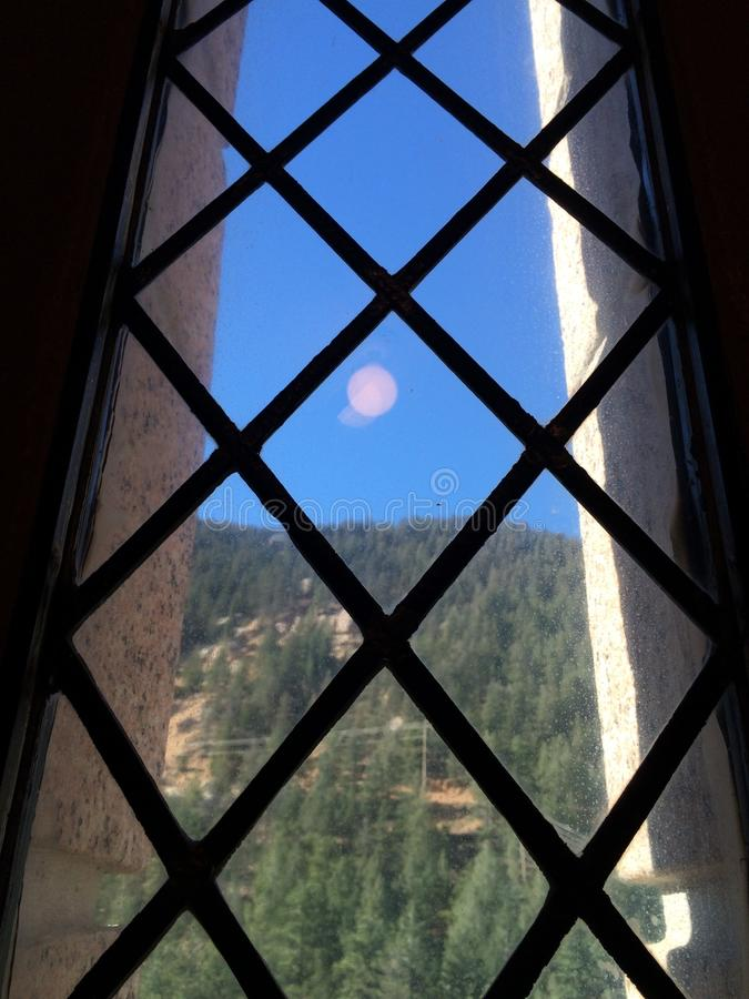 Le Colorado par le verre images libres de droits