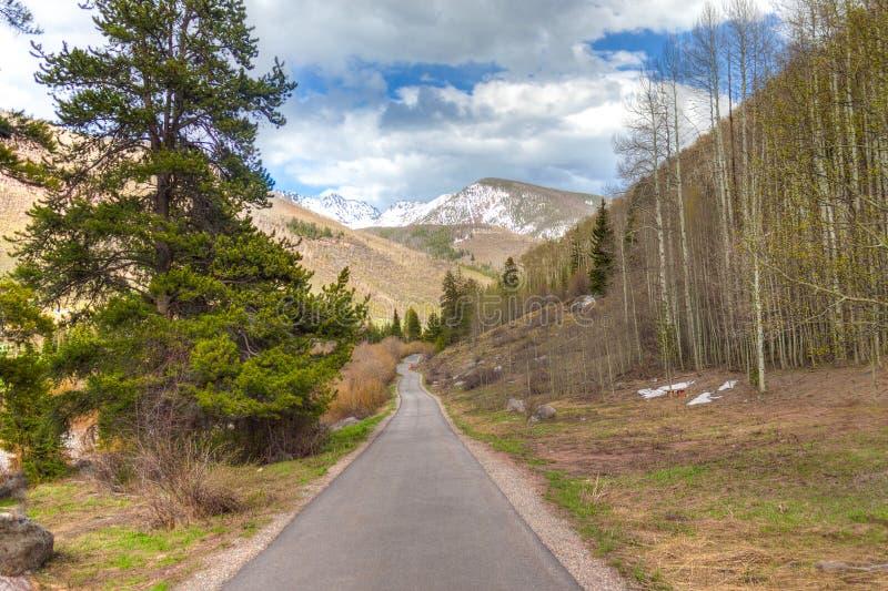 Le Colorado-Vail photo libre de droits