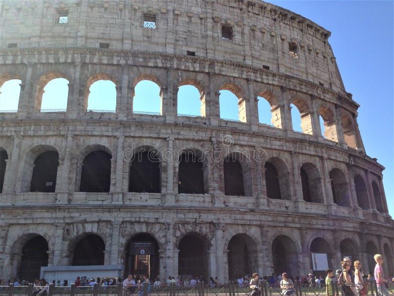 Le Colosseum ou le Colisé, Flavian Amphitheatre photos libres de droits