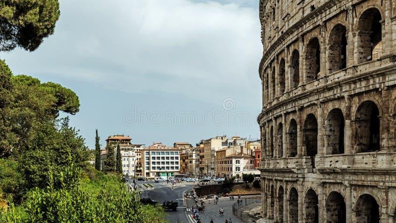 Le Colosseum, le plus grand amphithéâtre jamais construit photos stock