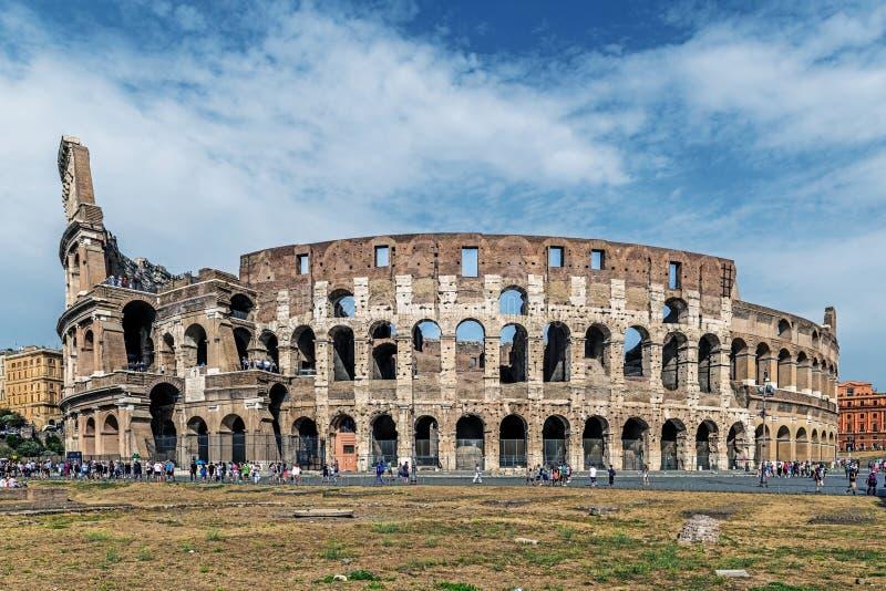 Le Colosseum, le plus grand amphithéâtre jamais construit photographie stock