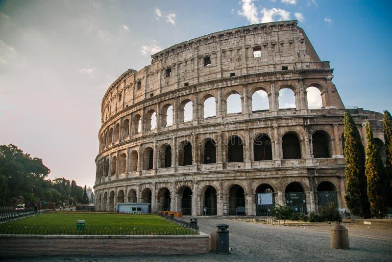 Le Colosseum, Rome de renommée mondiale, Italie image stock