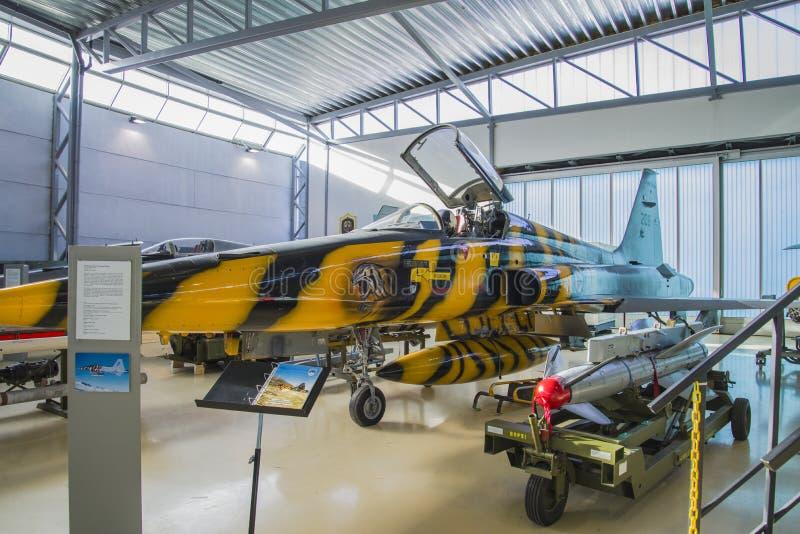Combattant 7 de liberté de Northrop f-5a images libres de droits