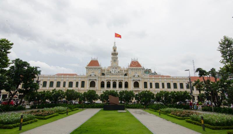 Le Comité Saigon Vietnam des personnes s photographie stock