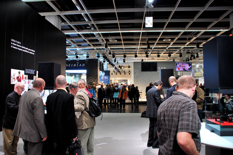 le commerce d'exposition de photokina photo stock