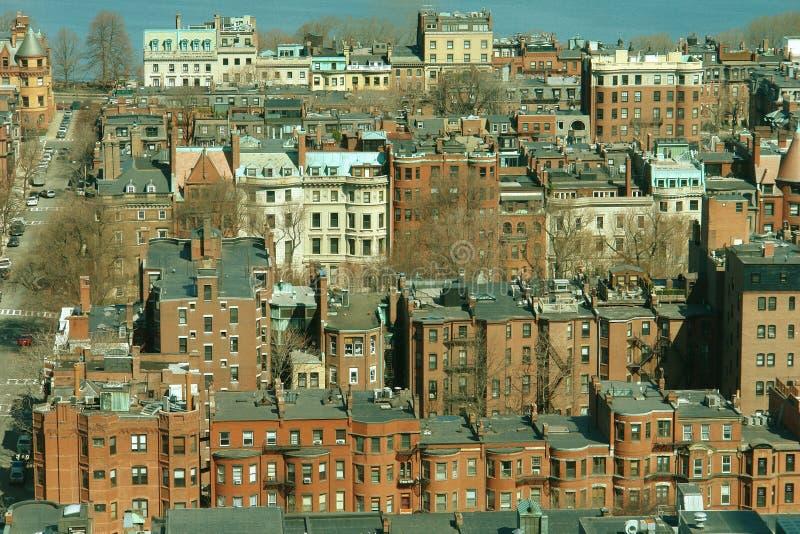 Le compartiment arrière de Boston photographie stock