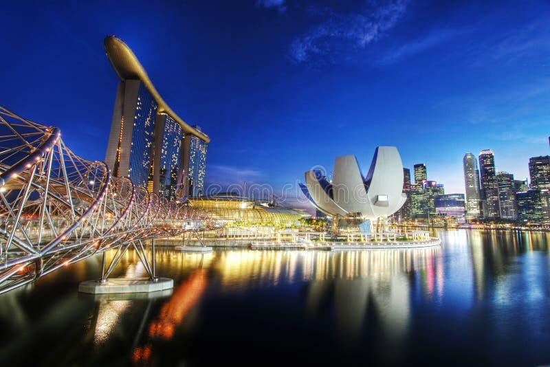 Le compartiment de marina sable Singapour photos libres de droits