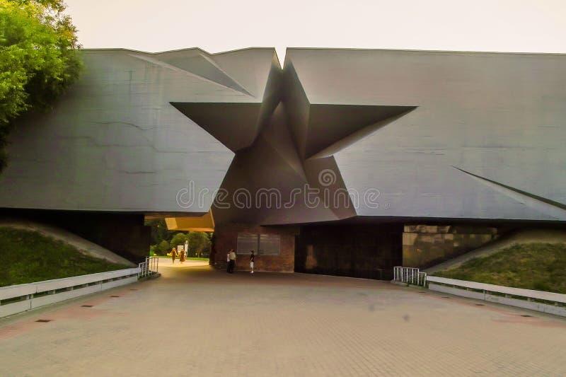Le complexe commémoratif de la forteresse de Brest au Belarus photographie stock