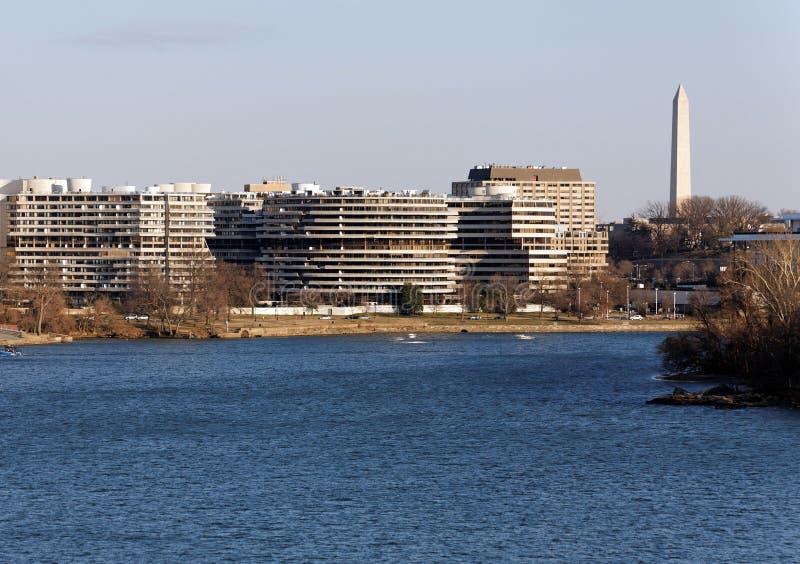 Le complexe de Watergate photographie stock libre de droits