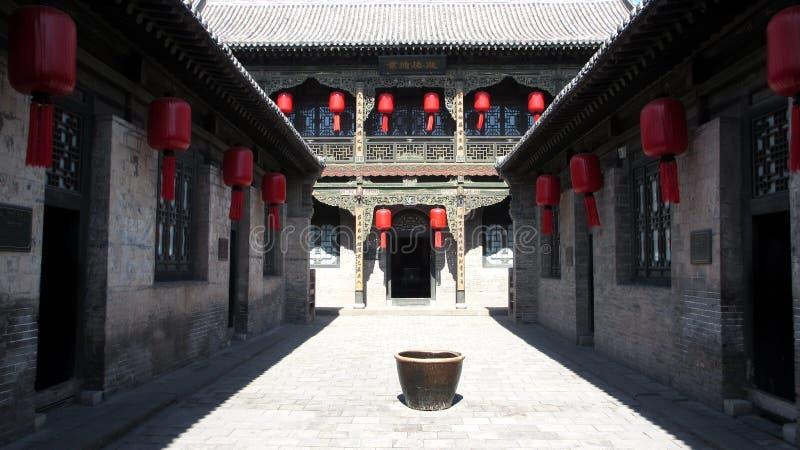 Le composé de famille du Qiao photo libre de droits