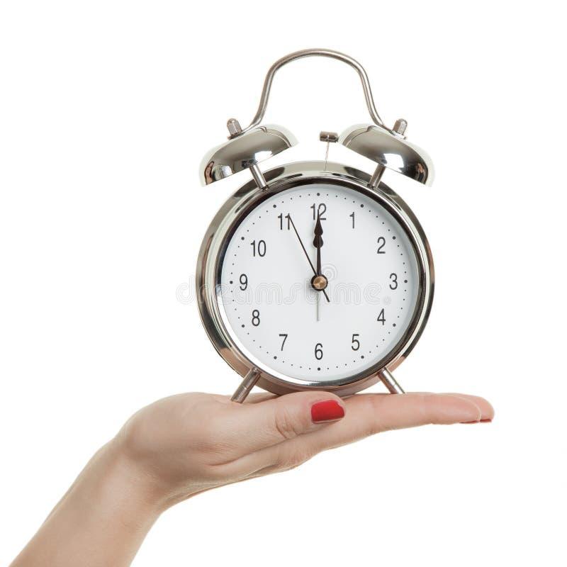 Le compte à rebours, le temps s'épuise, nouvelle année image stock