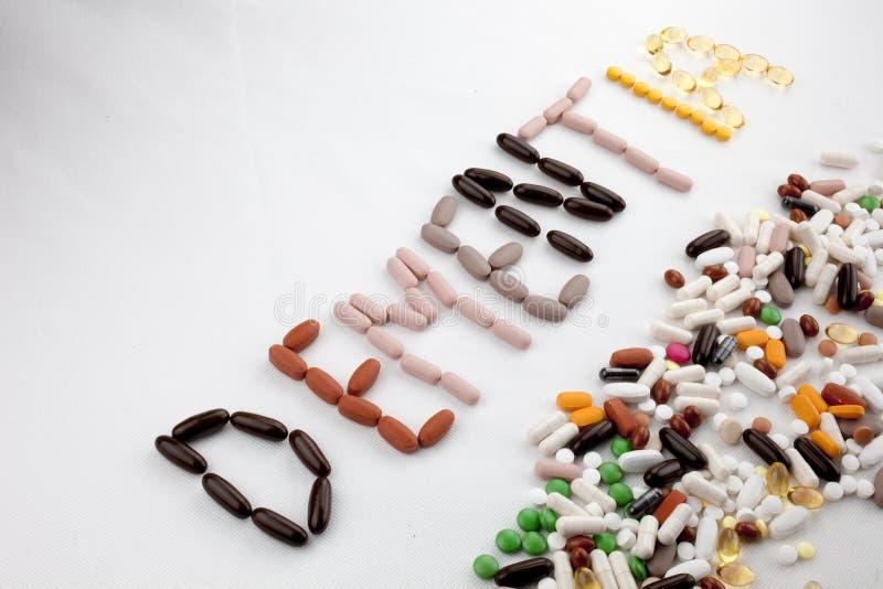 Le concept conceptuel de santé de soins médicaux d'inspiration de légende des textes d'écriture de main écrit avec des pilules do photo stock