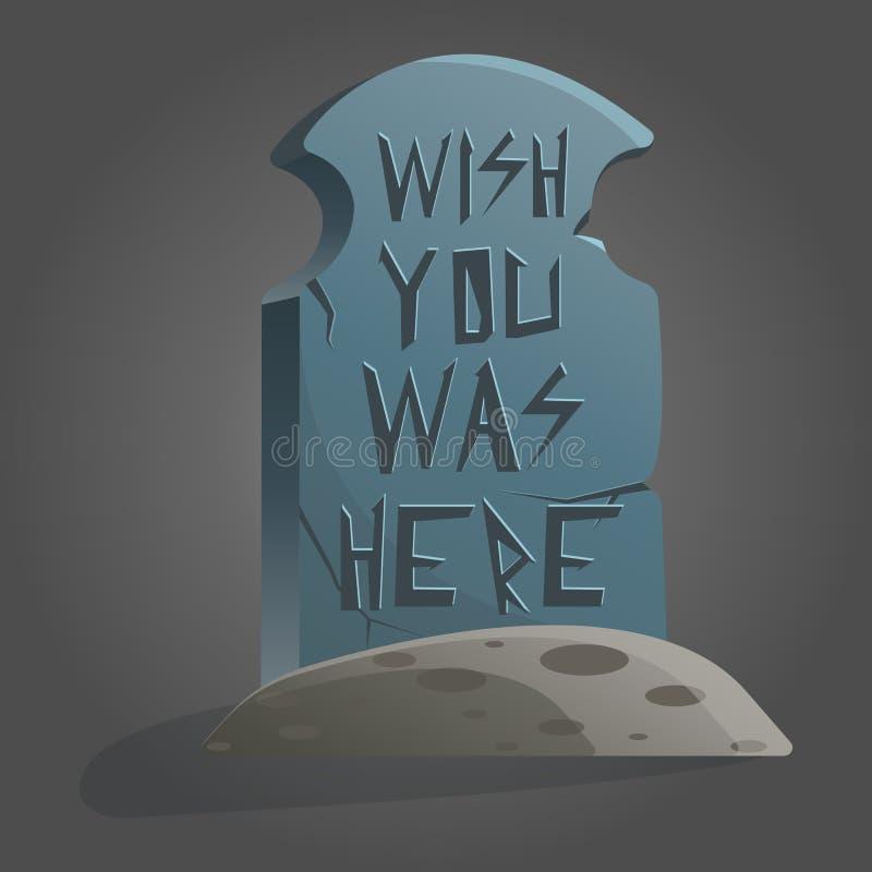Le concept de construction de la mort a placé avec le cimetière et le deuil photographie stock libre de droits