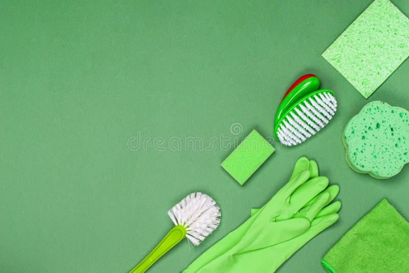 Le concept de nettoyage, de propreté et d'hygiène photo stock