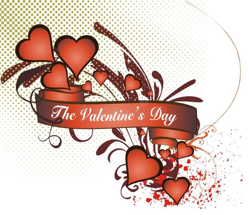 Le concept de Valentine (no.5) illustration libre de droits